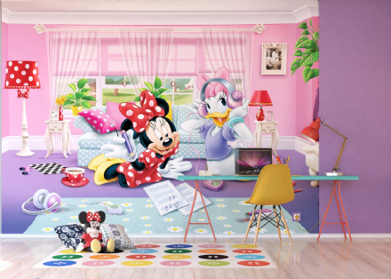 Disney Premium wall mural Minnie Mouse